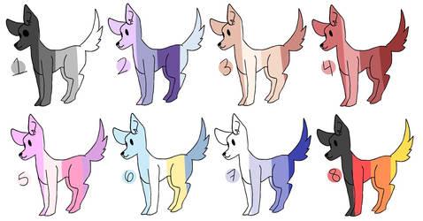 colour palette adopts (ota) by hesitantHeroine