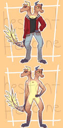 anthro dragon auction! (closed) by hesitantHeroine