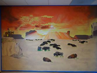 Mesa Mural by Launadoon