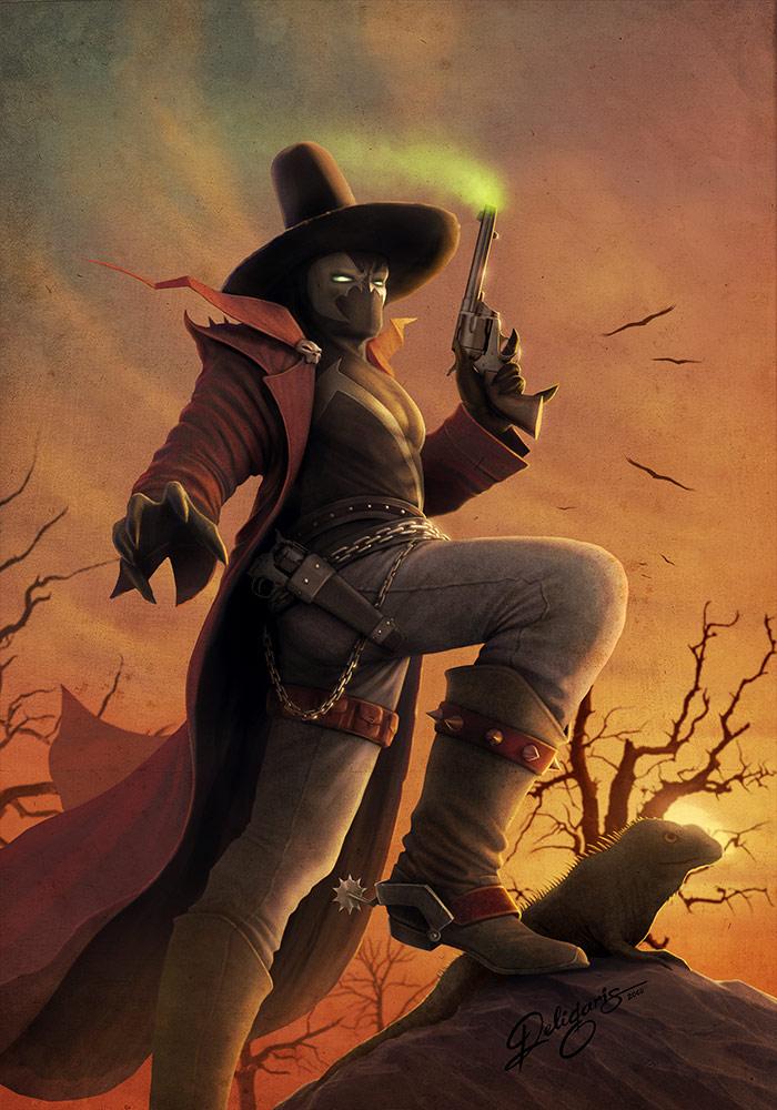 Spawn Gunslinger cover