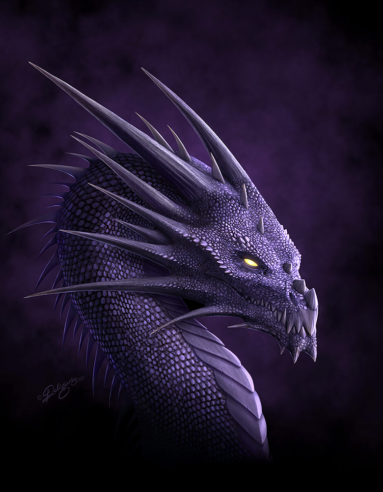 Purple Dragon by Deligaris dans Dragons Purple_Dragon_by_deligaris