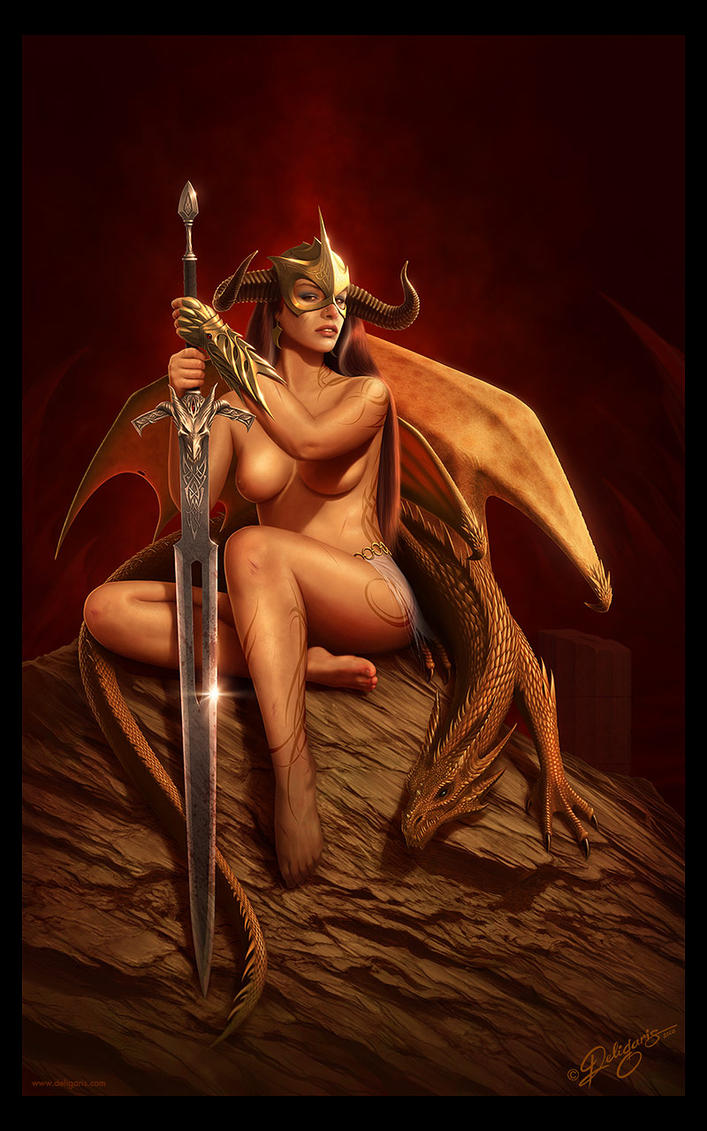 Warrior women and dragons nude hentai gallery