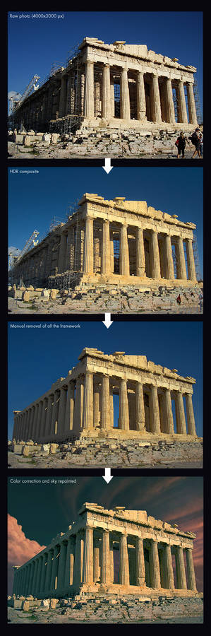 Parthenon-Steps