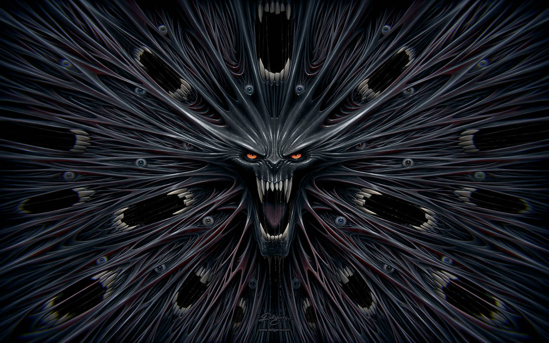 Evil Wallpaper by Deligaris