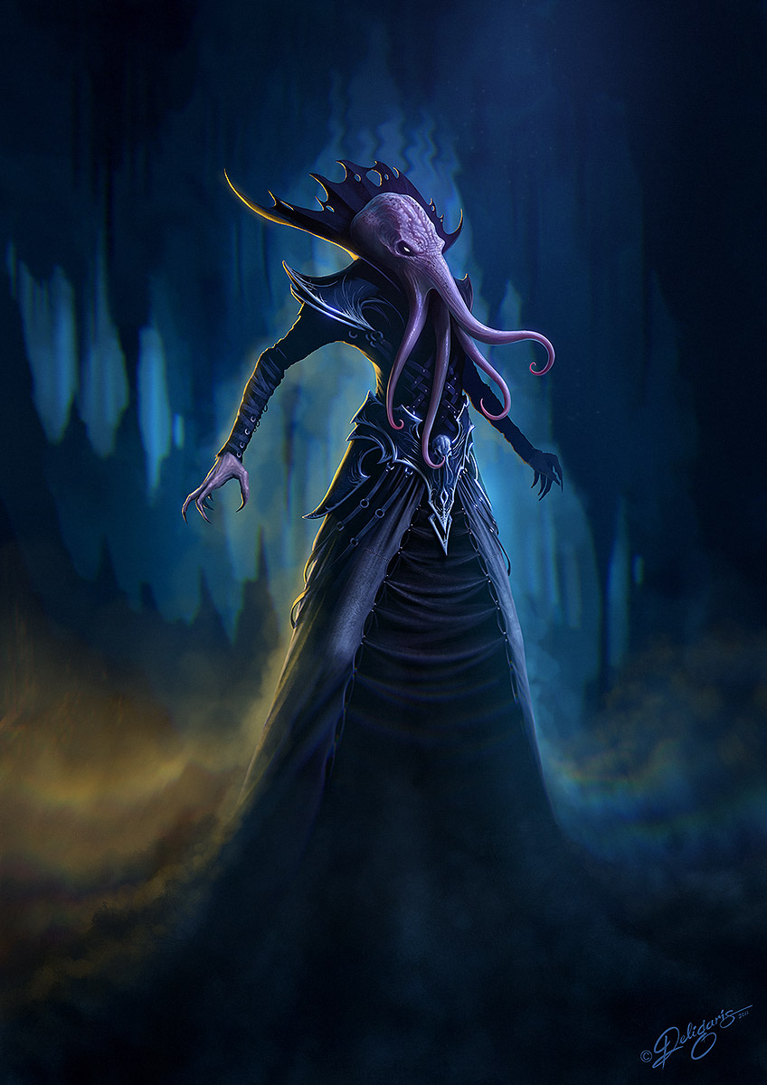 Mind Flayer by Deligaris