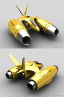 Spacecraft by Deligaris