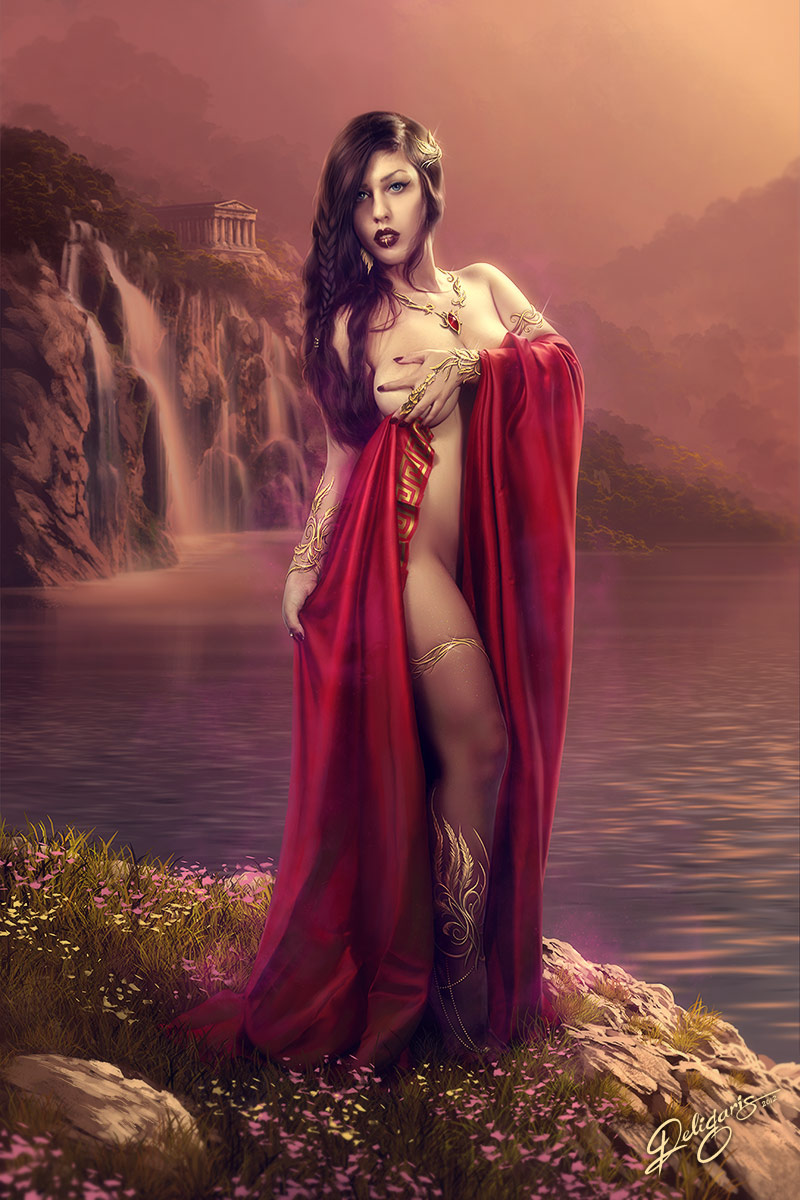 Aphrodite by Deligaris