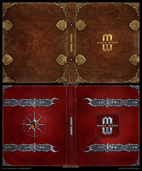 Mage Wars - Spell book sleeves - SET 1