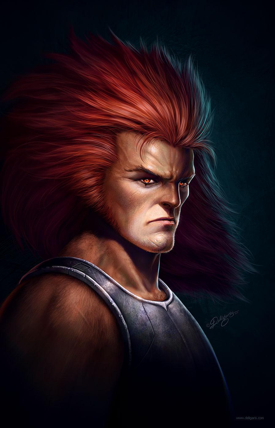 Lion-O - Fan art by Deligaris
