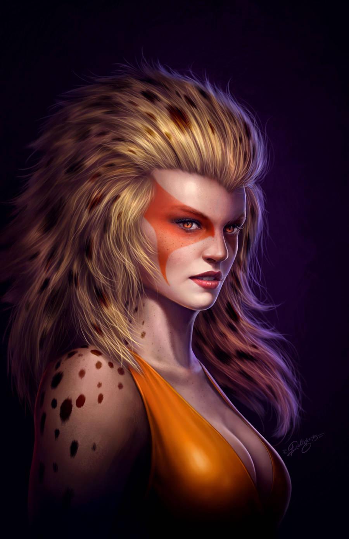 Cheetara - Fan art by Deligaris
