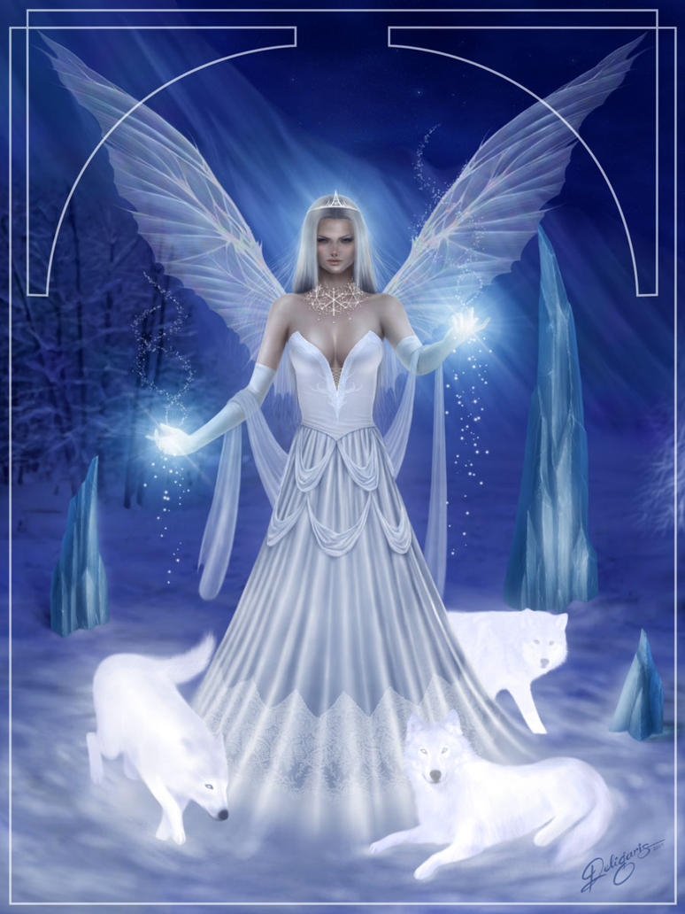Snow fairy by deligaris on deviantart