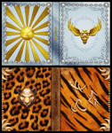 Mage Wars - Spell book sleeves - SET 8