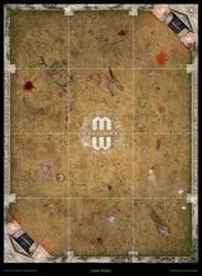 Mage Wars - Arena game board: Selenia (Anc. Greek)