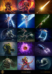 Mage Wars - Card art 2