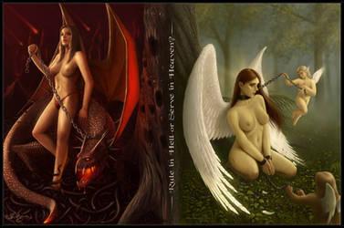 Rule In Hell - Serve In Heaven by Deligaris