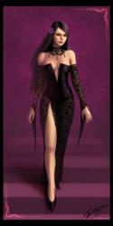 Violet-Black by Deligaris
