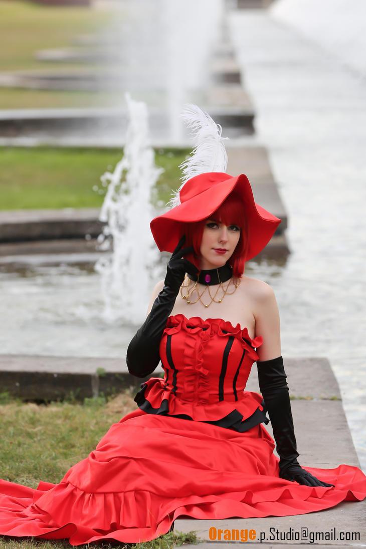 Madam Red Cosplay (Black Butler, Kuroshitsuji) by NatchanCosplay