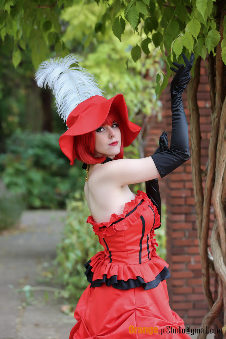 Madam Red Cosplay (Black Butler, Kuroshitsuji) by NatchanCosplay