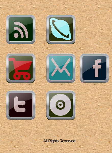 Social Media Icons by SearchProjects