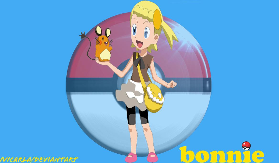 Pokemon Xy Bonnie And Dedene Fan Art Wallpaper 569537444