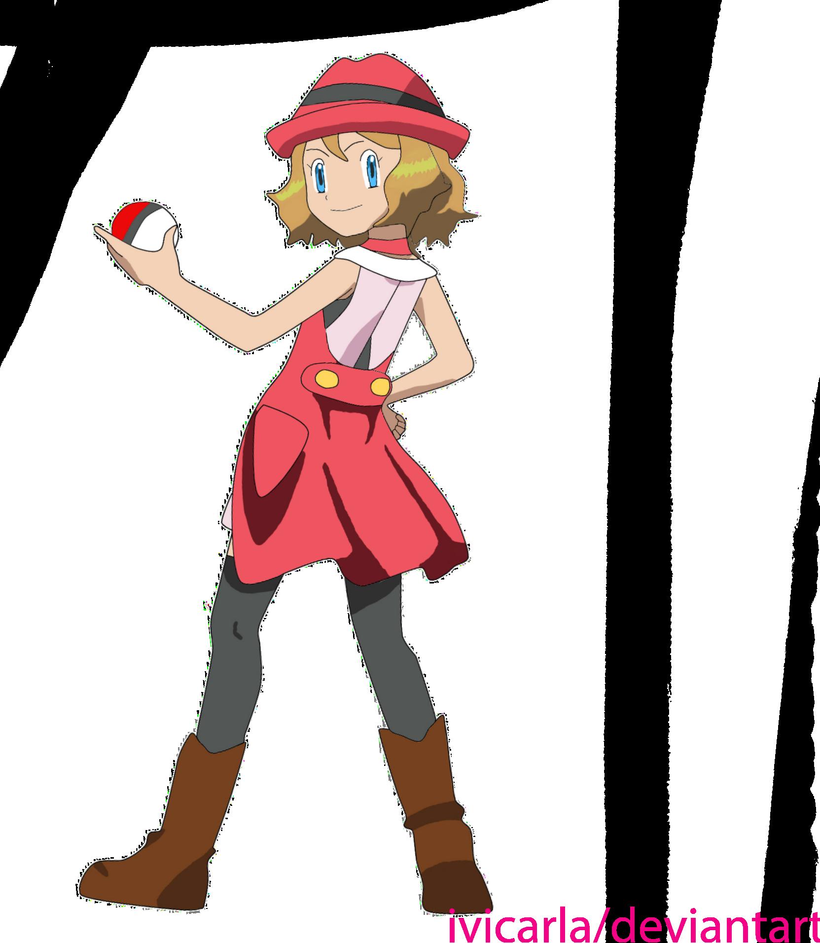 Pokemon XY: Serena by Martiian on DeviantArt