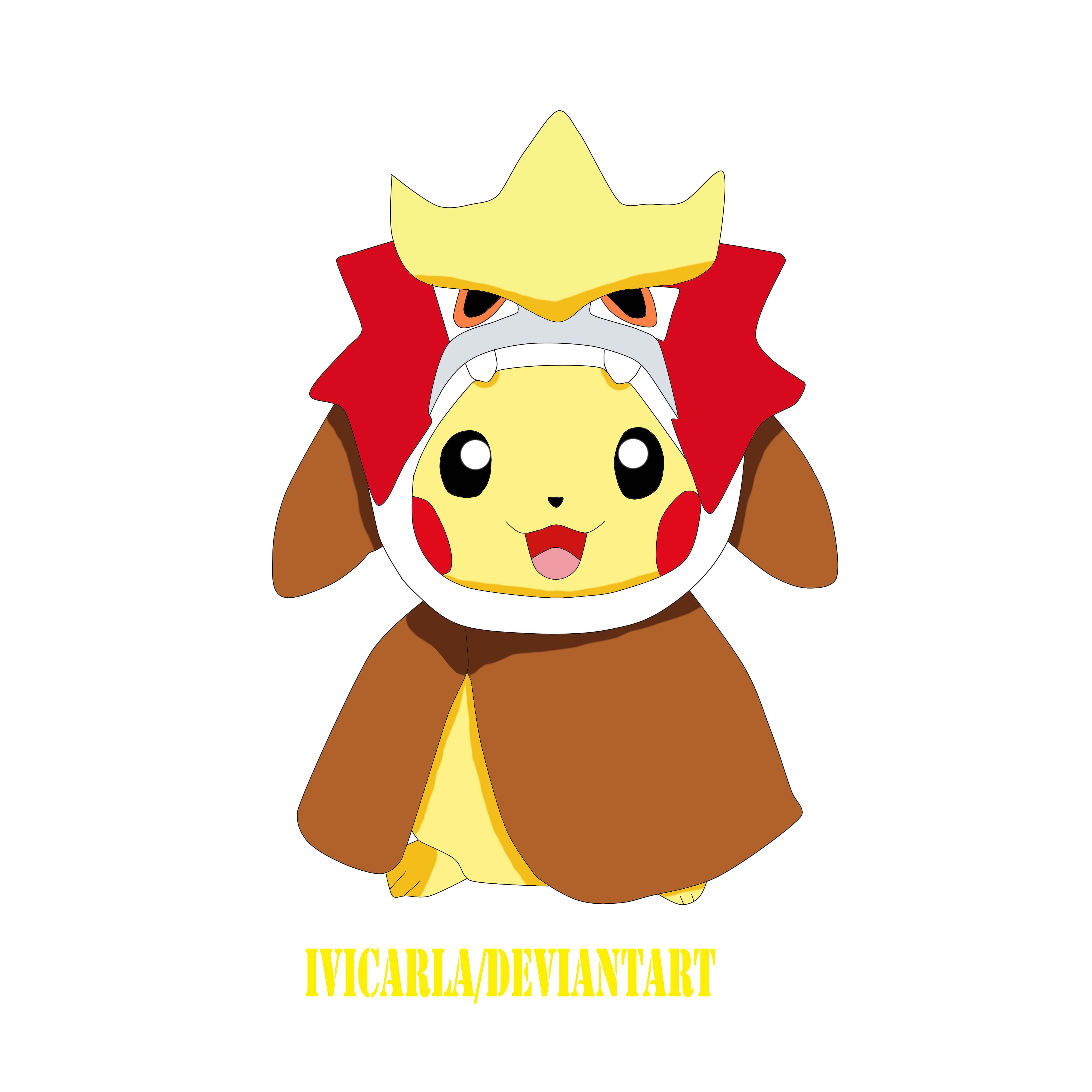 pokemon pikachu entei by ivicarla on deviantart