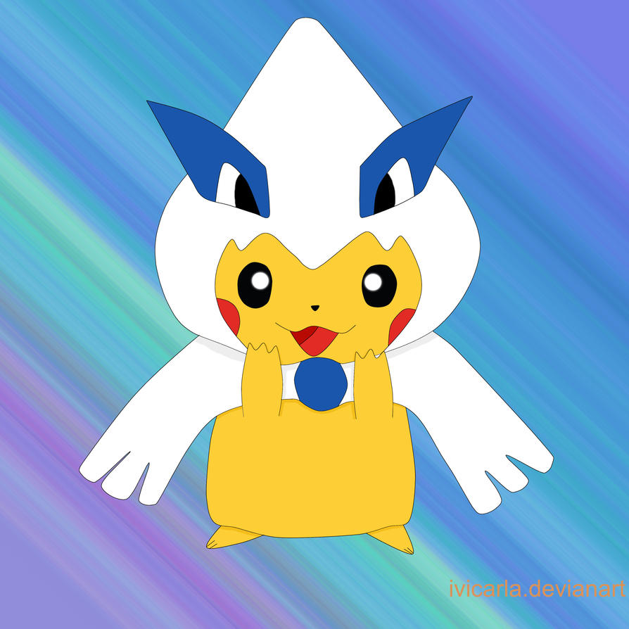 Pokemon Xy And Z Pikachu Disfraz De Lugia 598953090