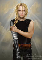 Edward Elric -Out of the Storm by lestat2007