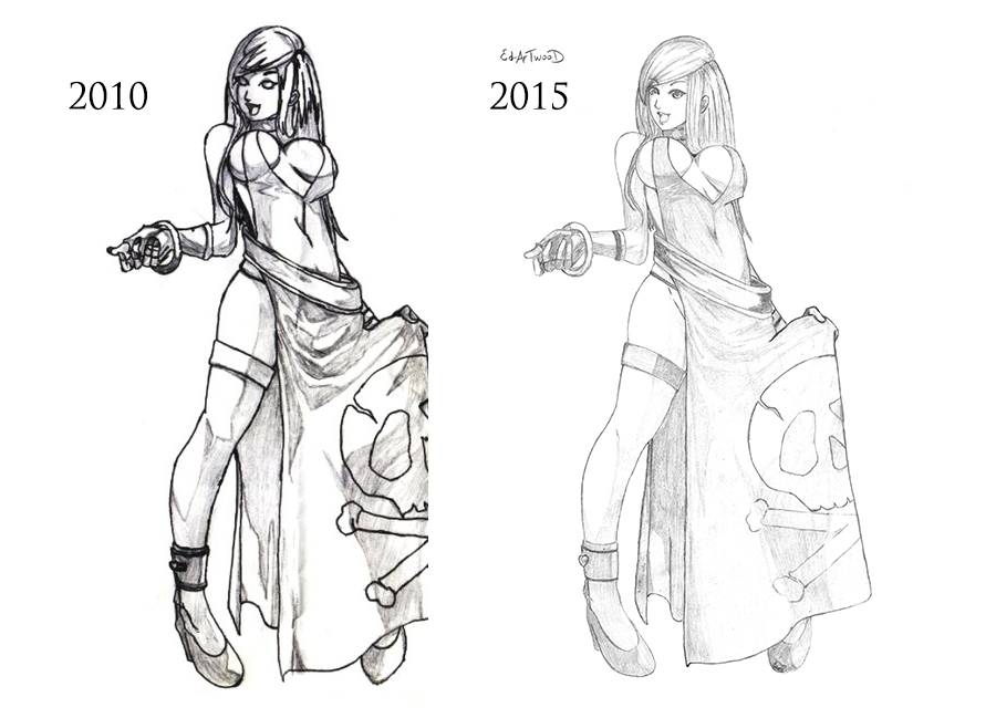 Bonne Jennet (2010 and 2015 versions) by Ed-Artwood