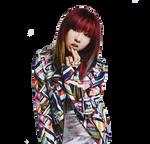 MINZY (2NE1) .PNG by:Milevip