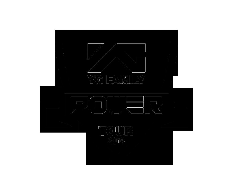 YG FAMILY POWER TOUR 2014 LOGO