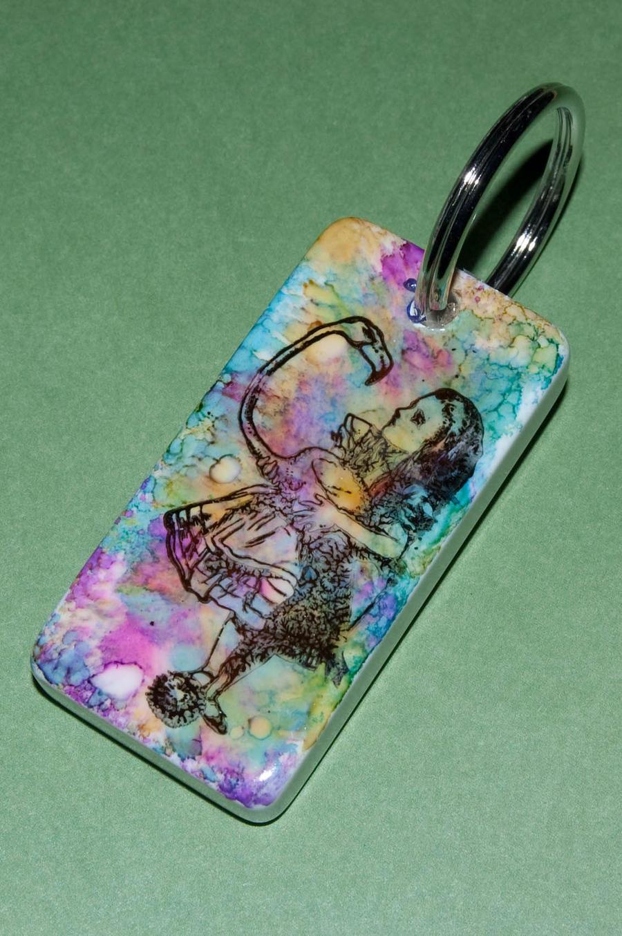 Alice in wonderland dominoe by maskedrabbitcrafts on for Alice in wonderland crafts