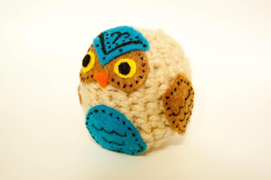 Bohemian Crochet Owl by maskedrabbitcrafts