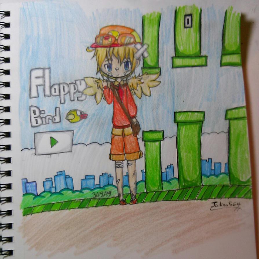 Gijinka Flappy Bird chibi by joilina564