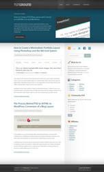 TutGround Blog Layout