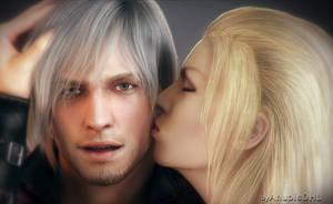 Demonic Kiss by AnubisDHL