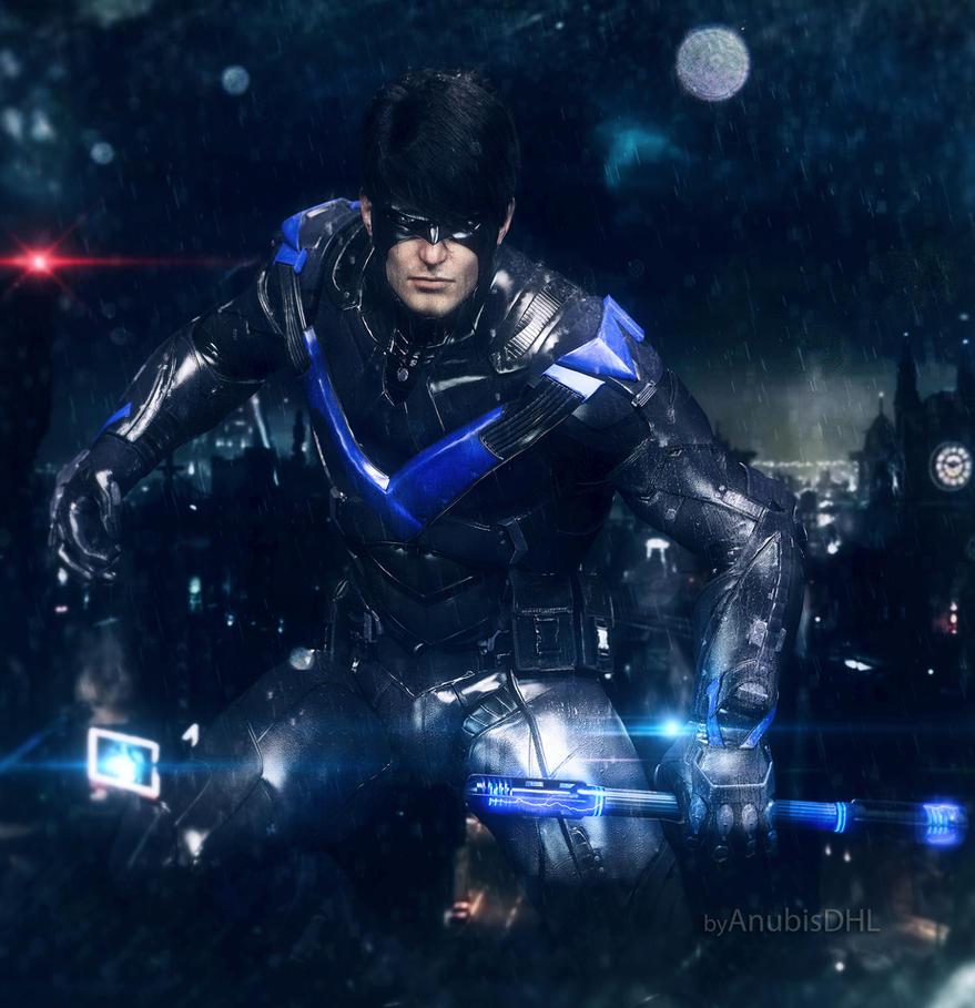 Nightwing logo dark knight rises