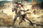 MGSV: Snake and Quiet