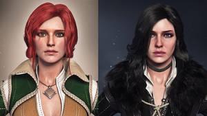 The Witcher's Ladies WIP
