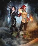 Triss and Yenn