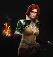 Triss Merigold by AnubisDHL