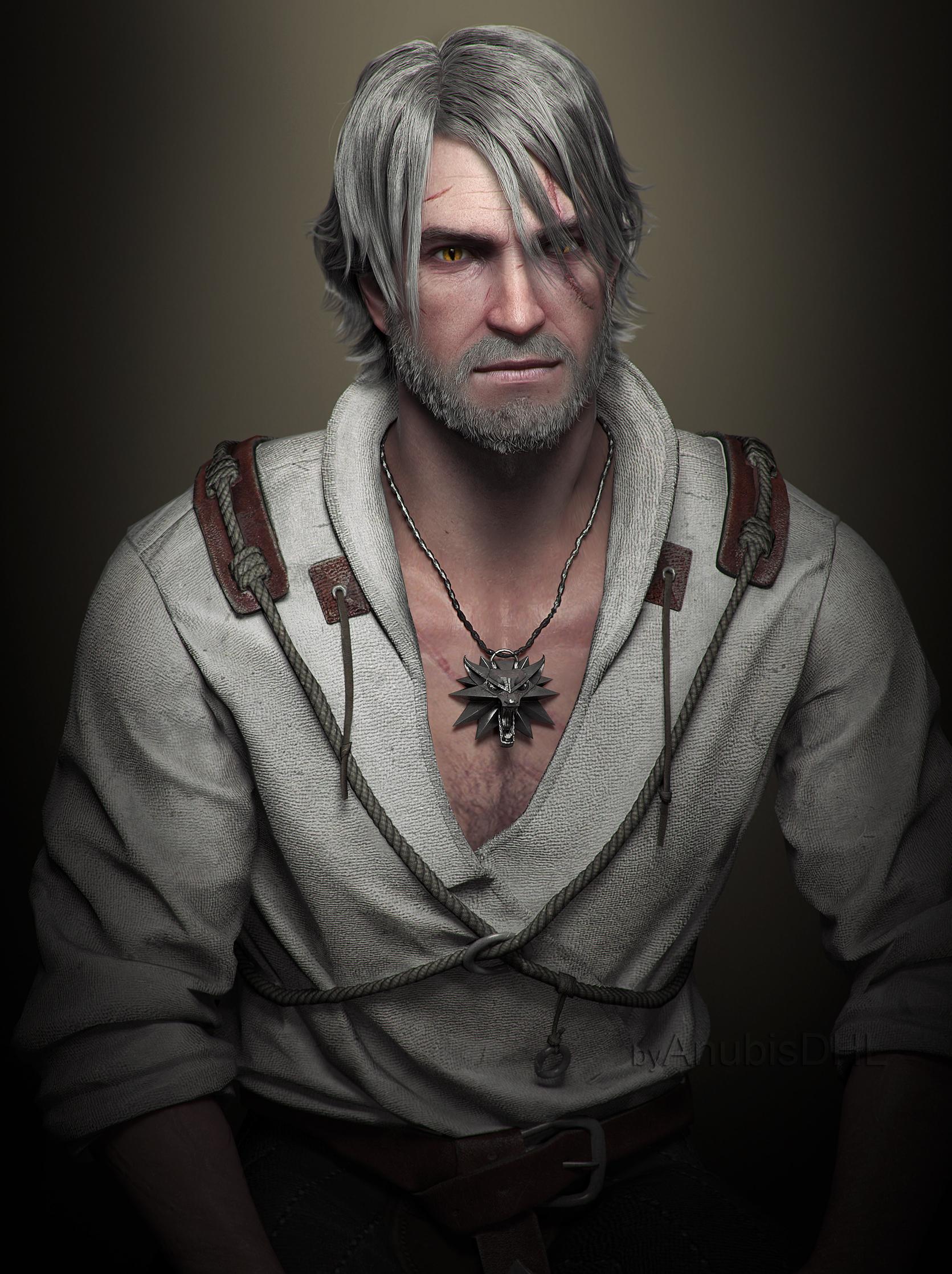 Geralt by AnubisDHL