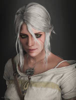 Ciri Portrait by AnubisDHL