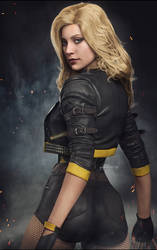 I2: Black Canary - v2 by AnubisDHL
