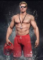 Aquaman Lifeguard by AnubisDHL
