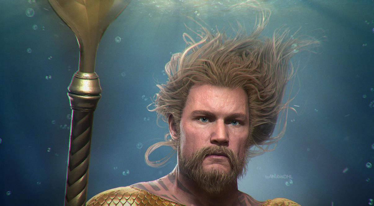 I2: Aquaman  (Close-up) by AnubisDHL