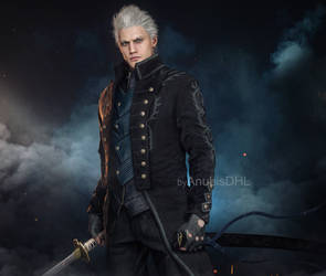 Devil May Cry 5: Vergil by AnubisDHL