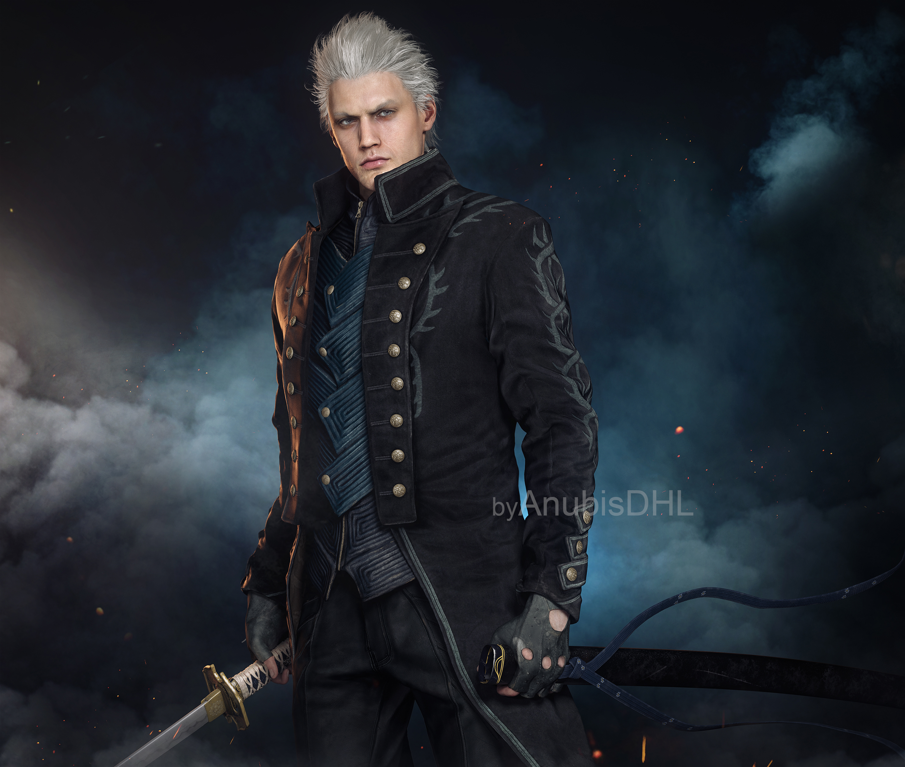 Devil May Cry 5 Vergil By Anubisdhl On Deviantart
