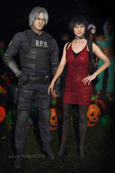 Dante and Lady: Halloween Party 2019
