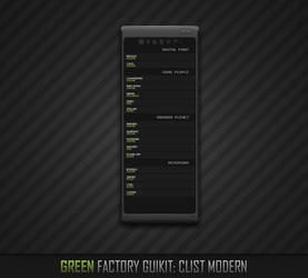 CList Modern by ElectroBiT